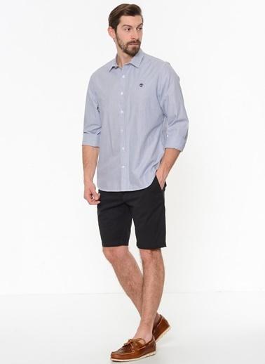 Çizgili Uzun Kollu Gömlek-Timberland